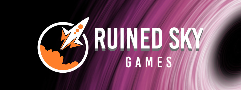 New Ruined Sky Games Logo